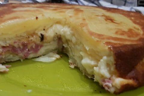 Gâteau invisible raclette Thermomix par mumu3384