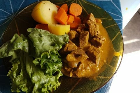Curry de boeuf Thermomix par Saseneey