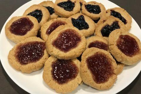 Biscuits à la confiture – Jam drops au Thermomix