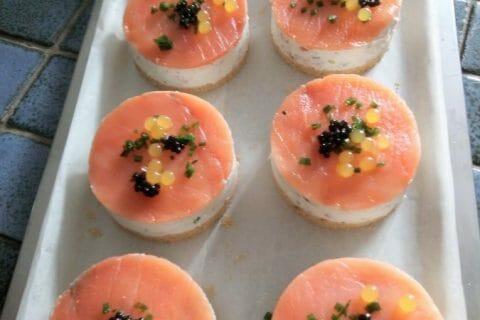 Cheesecake au saumon sans cuisson Thermomix par Gismevial