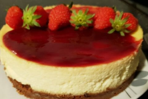 Cheesecake New-Yorkais Thermomix par Soundes@69
