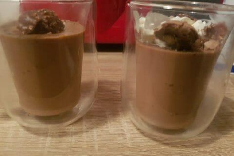 Crème dessert au Ferrero Rocher Thermomix par bbbisous