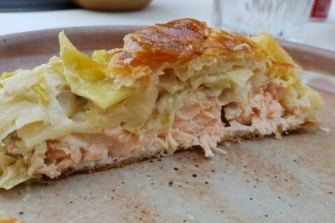 Feuilleté saumon et poireaux Thermomix par GrumpyBlondie