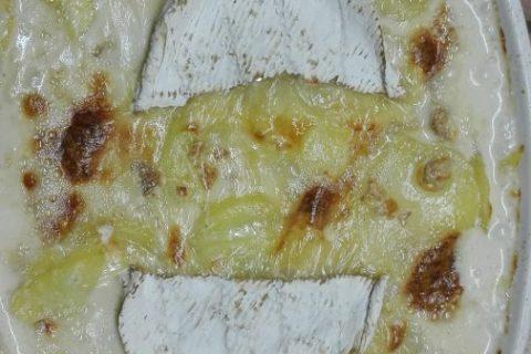 Gratin de pommes de terre à la normande Thermomix par Chnibette