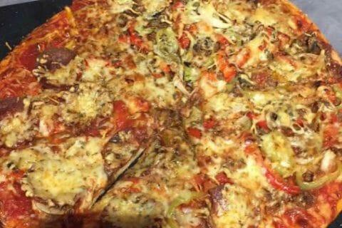 Pâte à pizza Thermomix par Alev