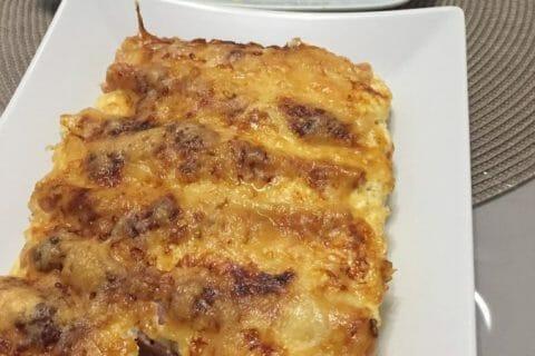 Roulés gratinés de jambon aux légumes Thermomix par Alev