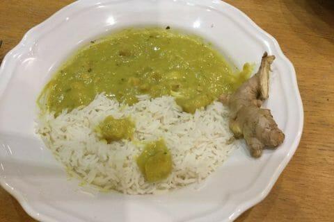 Poulet Thaï au curry au Thermomix