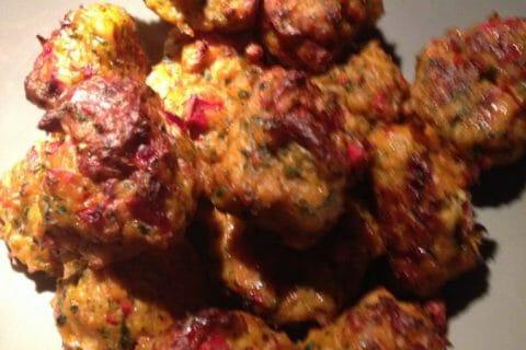 Boulettes de poulet Thaï Thermomix par Valivalou
