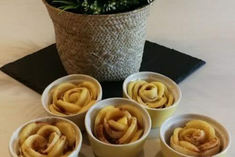 Roses feuilletées aux pommes Thermomix par Kris Tel 49