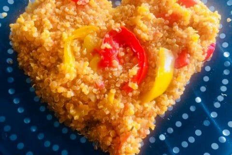 Quinoa sauce basquaise Thermomix par Elodie1280
