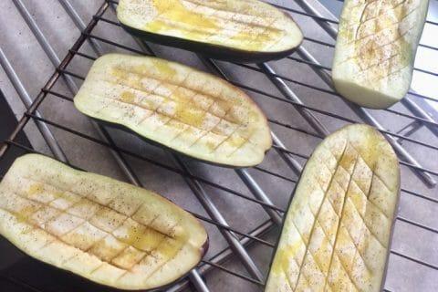 Aubergines farcies au thon Thermomix par Elodie1280