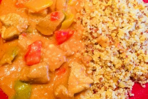 Sauté de porc au curry Thermomix par Elodie1280