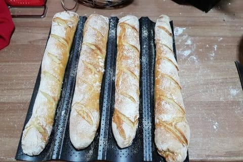 Baguettes Thermomix par Bettycel