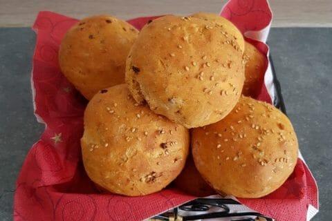 Petits pains au chorizo Thermomix par Moutonnette