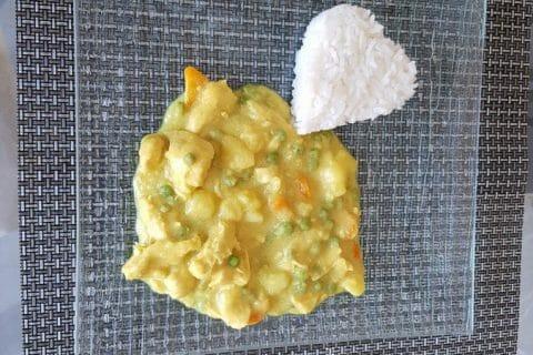 Poulet Thaï au curry Thermomix par Moutonnette