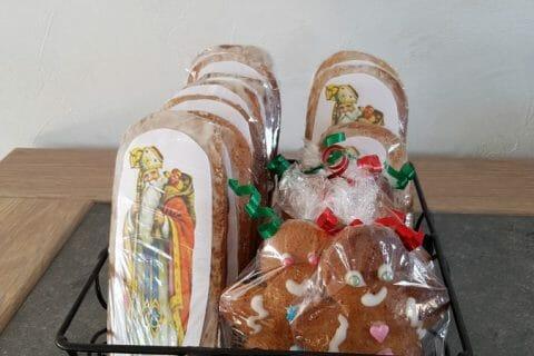 Biscuits pain d'épices de la Saint Nicolas Thermomix par Moutonnette