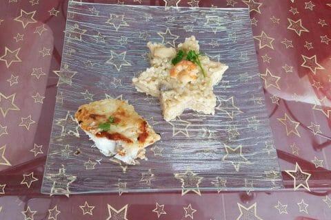 Risotto courgettes et crevettes Thermomix par Moutonnette