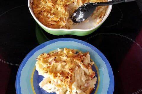 Mac and cheese Thermomix par Moutonnette