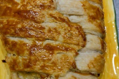 Feuilleté saumon et poireaux au Thermomix