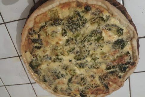 Tarte aux brocolis et roquefort Thermomix par Sab85