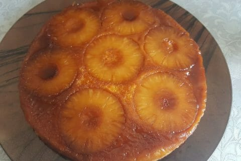 Gâteau renversé à l'ananas Thermomix par Sab85