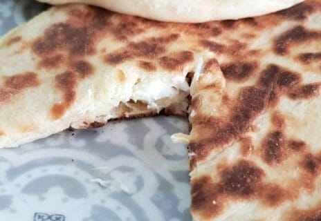 Naans au fromage Thermomix par Mady2b