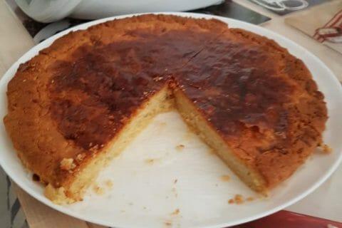Gâteau basque Thermomix par courantdair