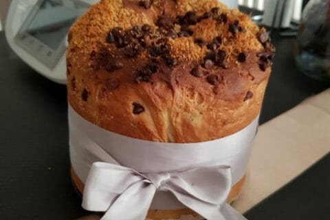 Panettone Thermomix par courantdair