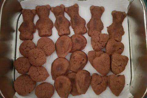 Mini muffins au chocolat Thermomix par courantdair