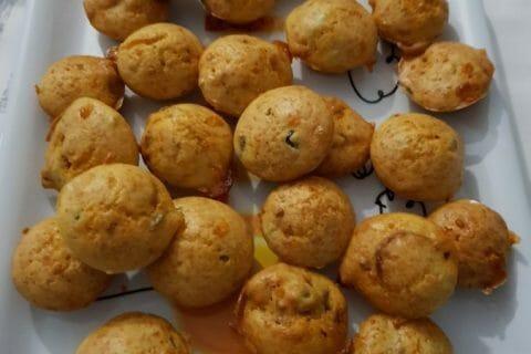 Muffins au chorizo Thermomix par courantdair