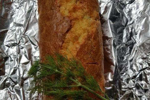 Cake au saumon Thermomix par courantdair