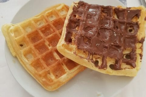 Gaufres Thermomix par courantdair