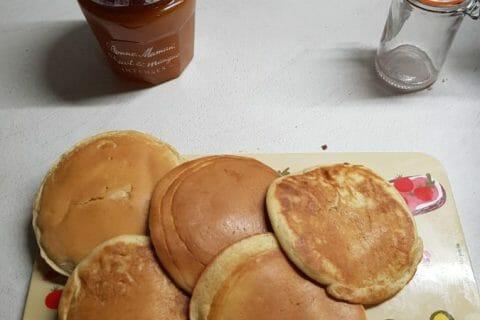 Pancakes à la banane Thermomix par courantdair