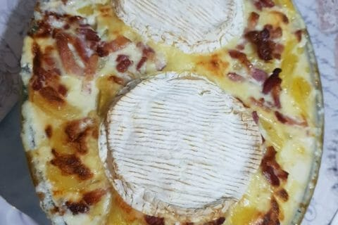 Gratin de pommes de terre à la normande Thermomix par Didou78