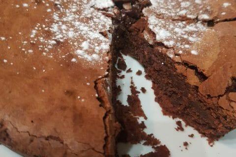 Gâteau macaroné au chocolat Thermomix par Monbebepiou