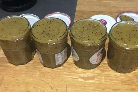 Confiture de kiwis aux pommes Thermomix par lea lebreton