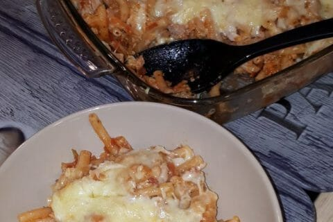 Macaronis au thon Thermomix par julie74600