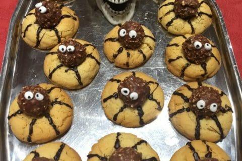 Spider cookies (cookies araignées) au Thermomix