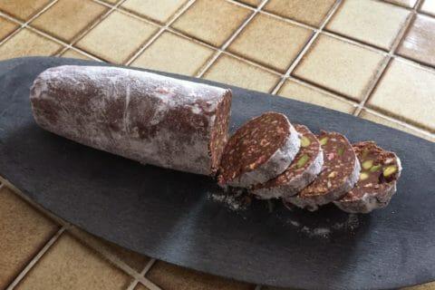 Saucisson au chocolat Thermomix par Stryliziaa