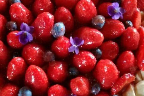 Tarte aux fraises Thermomix par Aurore54