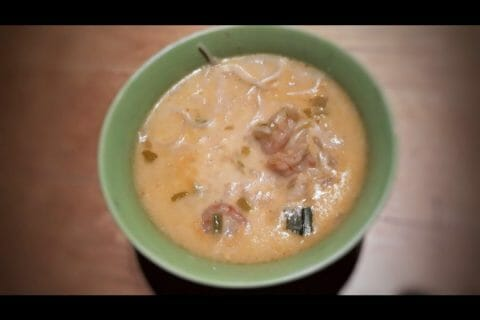 Soupe thaï crevettes et lait de coco Thermomix par Leoninad