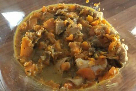 Bouchées de poulet aux carottes Thermomix par Julie.T