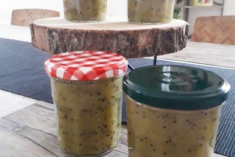 Confiture de kiwis aux pommes Thermomix par Anneflolo