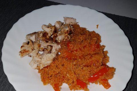 Quinoa sauce basquaise Thermomix par Carol Cubana