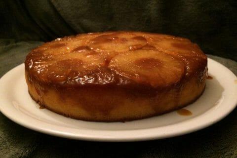 Gâteau renversé à l'ananas Thermomix par Nanouchette