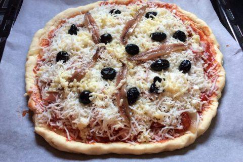 Pâte à pizza Thermomix par Nanouchette