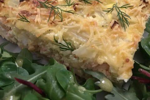 Tarte au fenouil et saumon Thermomix par Jirviny