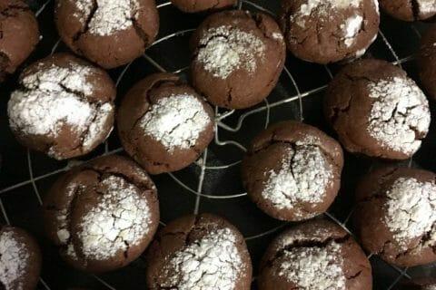 Craquelés au chocolat Thermomix par Jirviny
