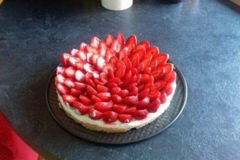 Tarte aux fraises sans cuisson Thermomix par Martinepic