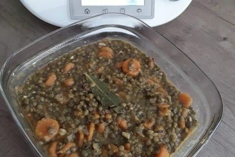 Lentilles et ses saucisses Thermomix par Jomaze